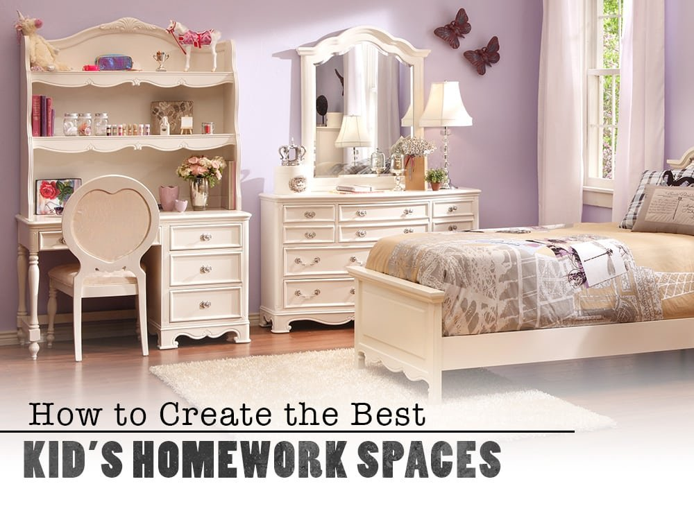 How to Create the Best Kid's Homework Space