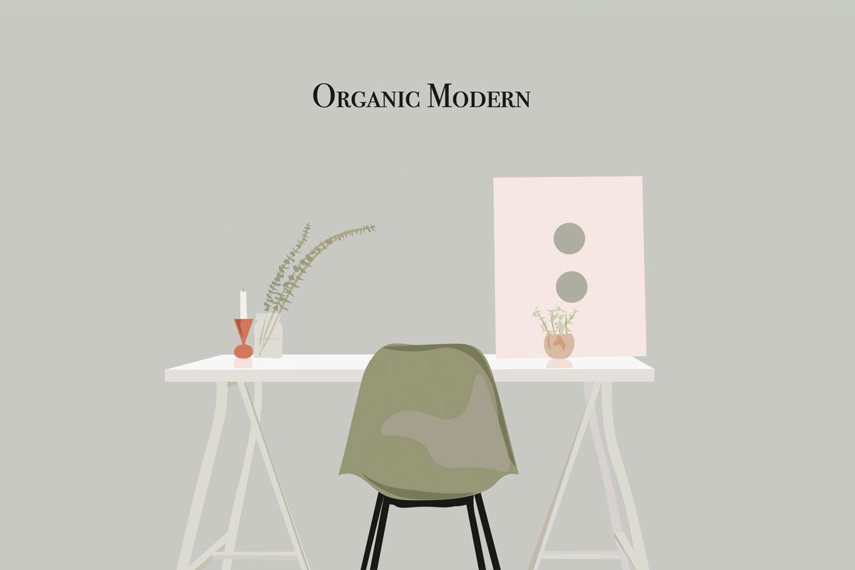 How to Decorate: Organic Modern Style