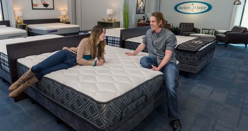 Doctor's Choice Hybrid Firm Bed in a Box