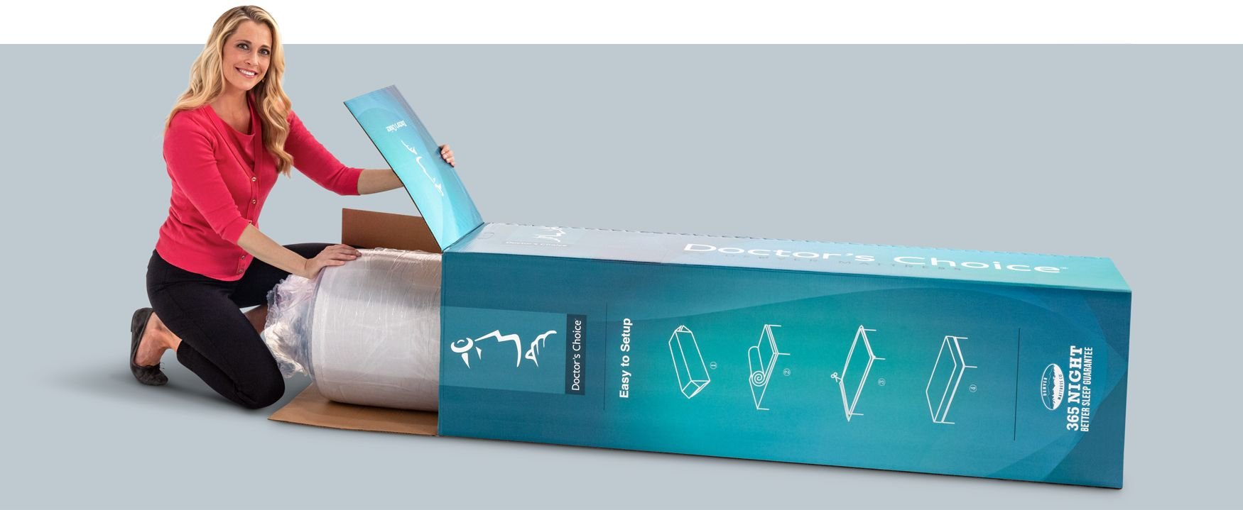 Doctor's Choice Hybrid Bed in a Box