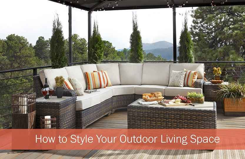 How to Style Your Outdoor Living Space
